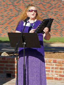 Performing at the Dedication of the Holocaust Memorial in Alexandria, LA