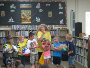 Summer Fun at Robertson Library